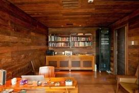 朴实的圣保罗全木住宅-客厅篇