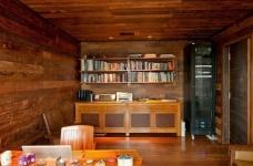 朴实的圣保罗全木住宅-客厅篇图_1