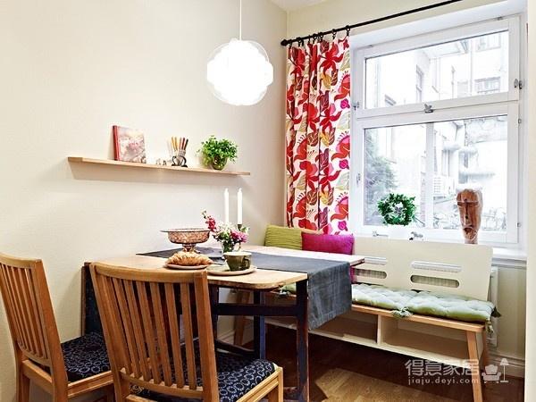 80㎡北欧复式家-客厅篇图_5