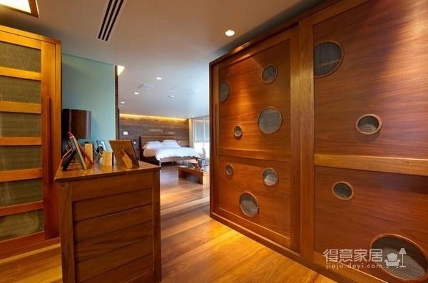 朴实的圣保罗全木住宅-卧室篇图_3