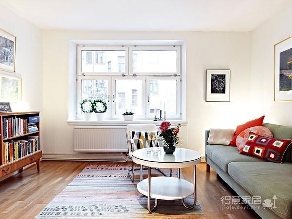 80㎡北欧复式家-客厅篇图_6