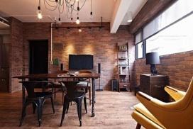 60㎡工业风公寓改造-客厅篇