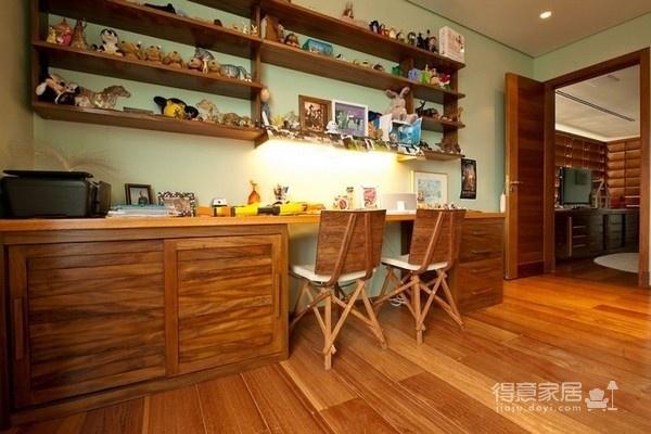 朴实的圣保罗全木住宅-卧室篇图_1