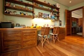 朴实的圣保罗全木住宅-卧室篇