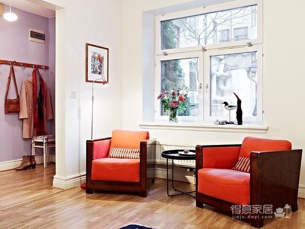80㎡北欧复式家-客厅篇图_3