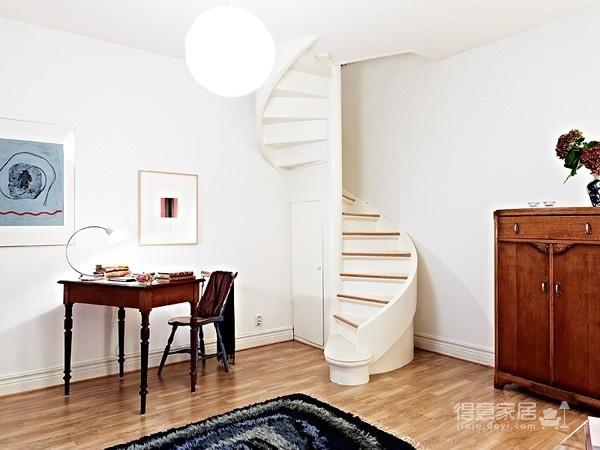 80㎡北欧复式家-客厅篇图_4