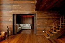 朴实的圣保罗全木住宅-客厅篇图_7
