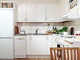 80㎡北欧复式家-厨房篇