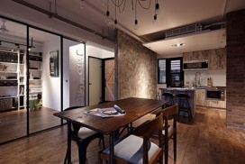 60㎡工业风公寓改造-餐厅篇