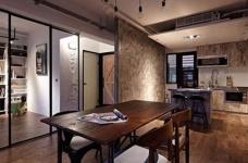60㎡工业风公寓改造-餐厅篇图_1