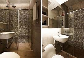 60㎡工业风公寓改造-浴室篇