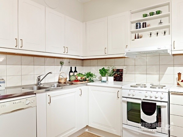 80㎡北欧复式家-厨房篇图_2