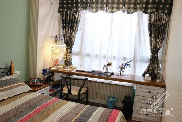 85平3房2厅精致美式-卧室图_3