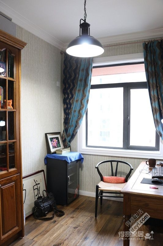 85平3房2厅精致美式-卧室图_2