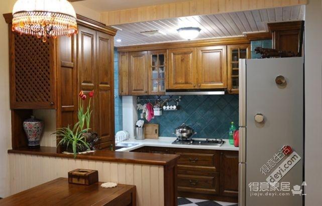 85平3房2厅精致美式-餐厅图_2