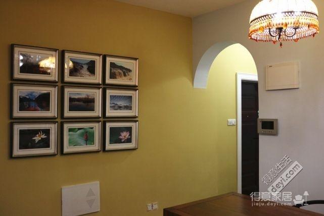 85平3房2厅精致美式-客厅图_4