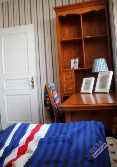 97㎡现代简约混搭美式-卧室