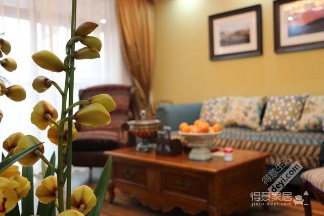 85平3房2厅精致美式-客厅图_1