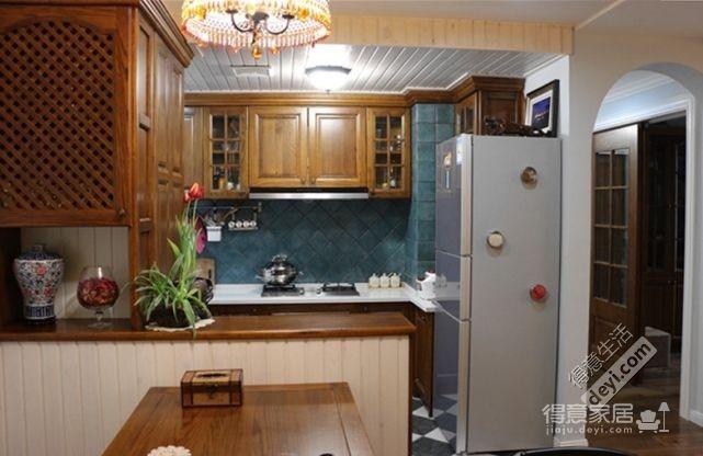 85平3房2厅精致美式-餐厅图_3