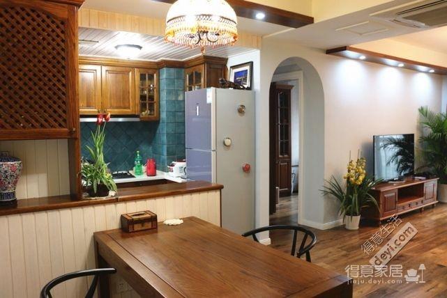 85平3房2厅精致美式-餐厅图_1