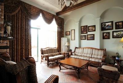 香江明珠地中海客厅