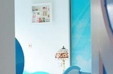醉人的蓝色卧室图_2
