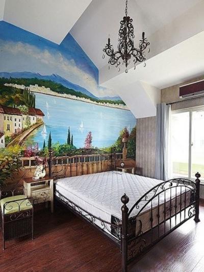 120平装地中海婚房童话世界