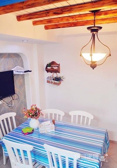 老房翻新打造温情地中海两居室图_4
