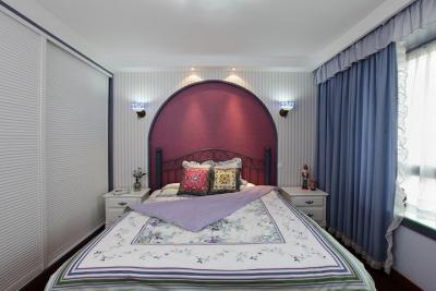 紫色魅惑卧室