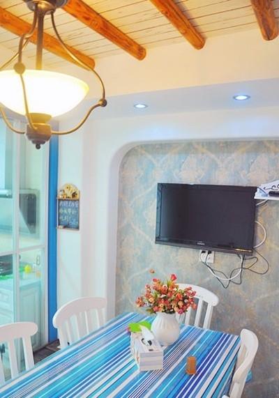 老房翻新打造温情地中海两居室