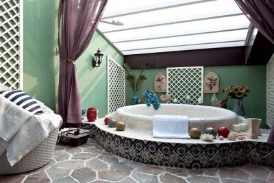 最喜欢有大的卫浴室的房子