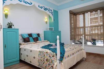 台湾Tiffany蓝法式Loft住宅装修