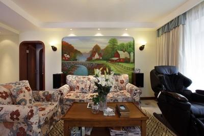 132平地中海风格三居室