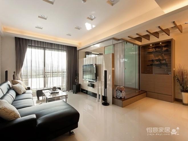 组-现代元素的俐落两室两厅图_9