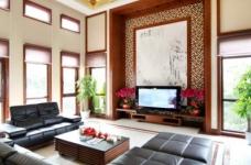 58万享受中国院子490平米豪宅的生活图_3