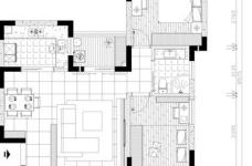 港东名居两房两厅现代简约风格图_6