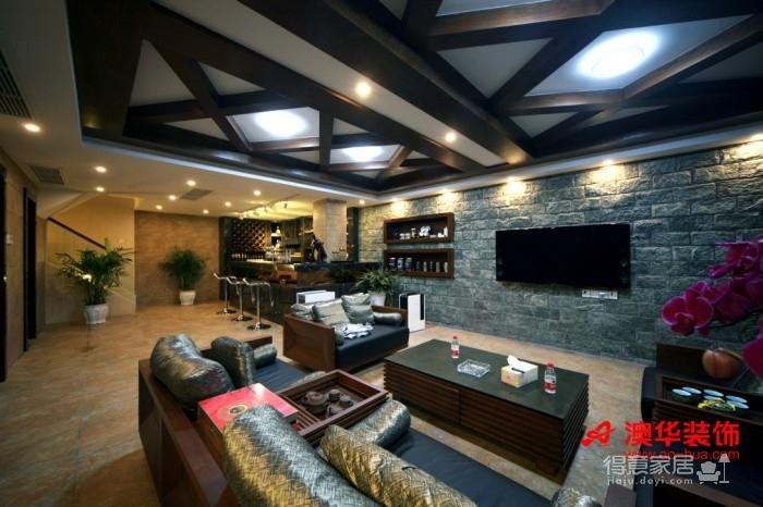 58万享受中国院子490平米豪宅的生活图_1