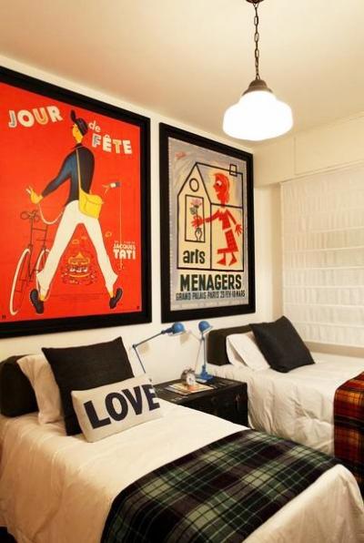 组-后现代工业风格-卧室