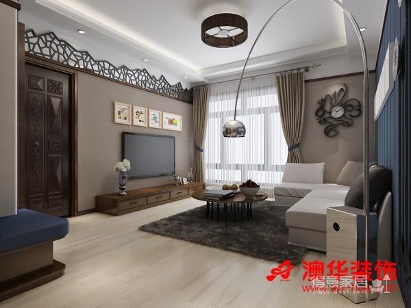 造香港映象90平米效果图图_1