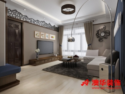 造香港映象90平米效果图