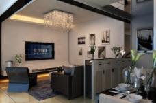 港东名居两房两厅现代简约风格图_5