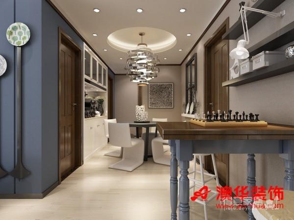 造香港映象90平米效果图图_3