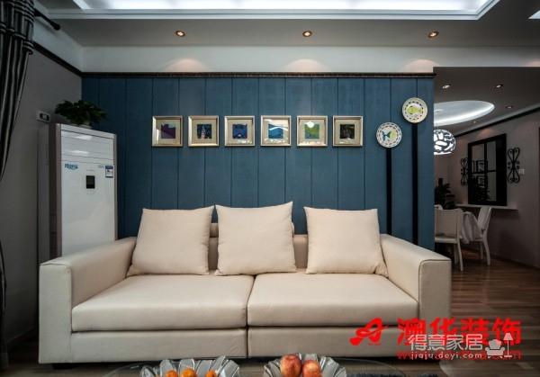 4.8万打造香港映象90平米暖心之家图_2