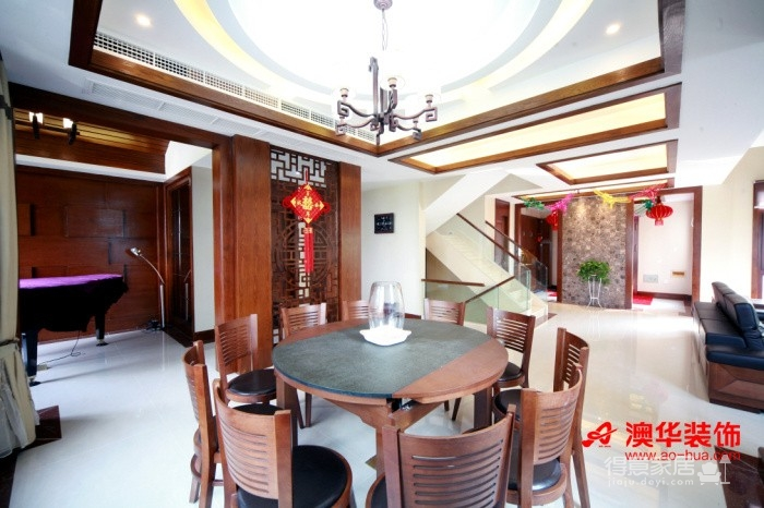 58万享受中国院子490平米豪宅的生活图_5