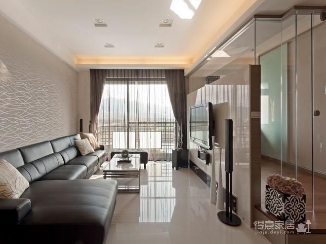 组-现代元素的俐落两室两厅图_8