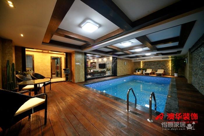 58万享受中国院子490平米豪宅的生活图_2