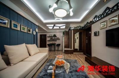 4.8万打造香港映象90平米暖心之家