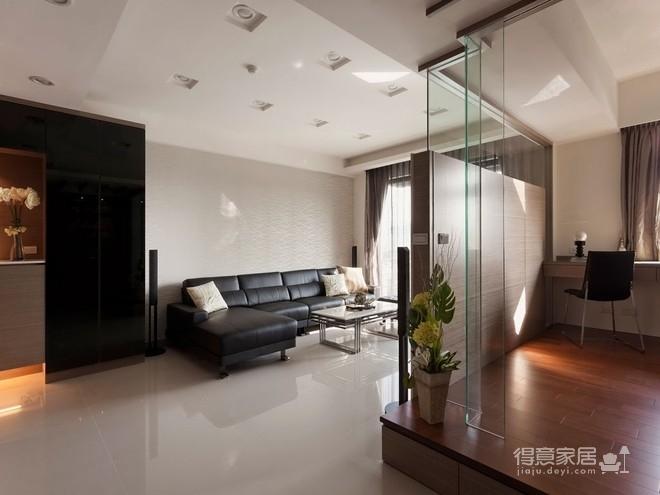 组-现代元素的俐落两室两厅图_1