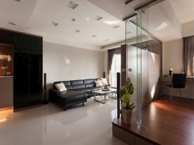 组-现代元素的俐落两室两厅