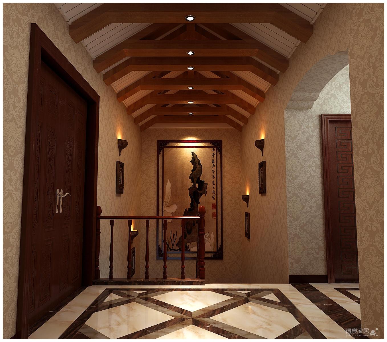 320平米别墅装修/新中式风格的独特演绎图_10